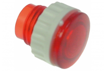casquillo para lámpara de señalización medida de montaje ø10mm rojo UE 10 pzs