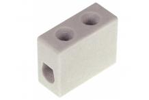 Conector de porcelana 1 polos 4mm² máx. 20A máx. 450V L 25mm An 12mm H 20mm UE 10 pzs