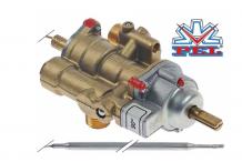 Grifo termostato de gas PEL tipo 25ST 30-90°C